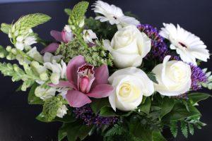 Hand full of flowers in Burnaby
