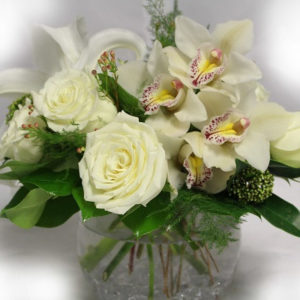 Fantastic all white flowers